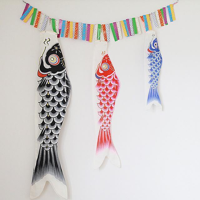 100均を活用♪ お家で鯉のぼりを楽しむ可愛い飾り方