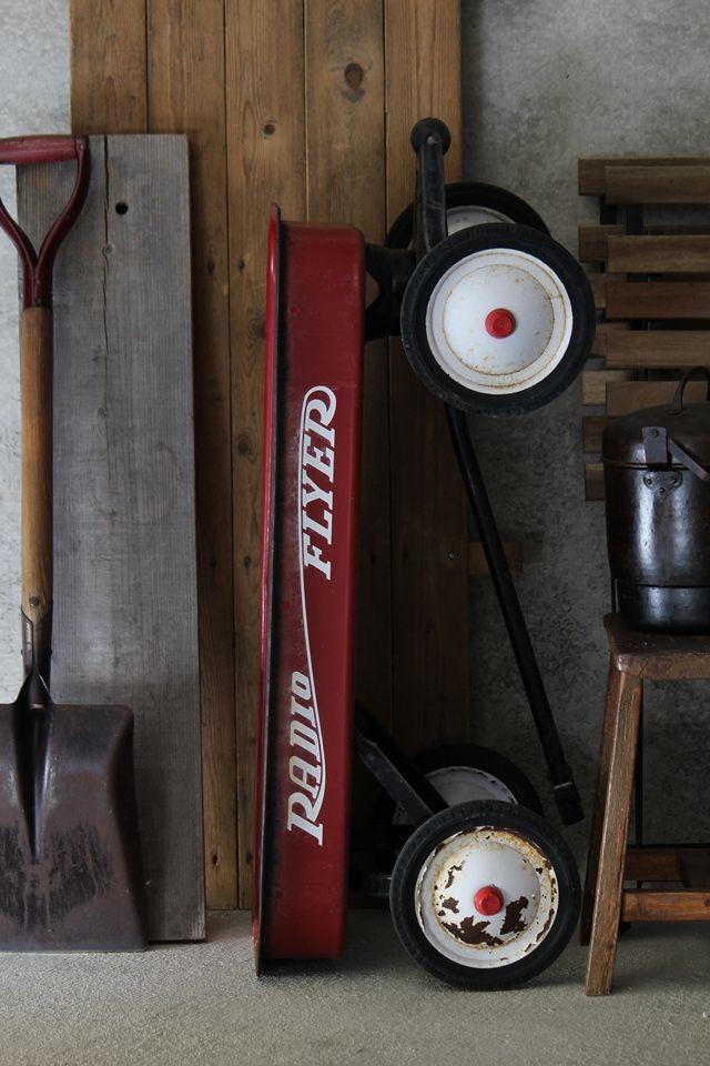 暮らしの中でもっと楽しもう! RADIO FLYER~創業1917年アメリカのおもちゃ~