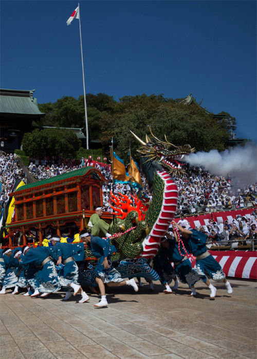 長崎秋の大祭・長崎くんち~子供達の活躍