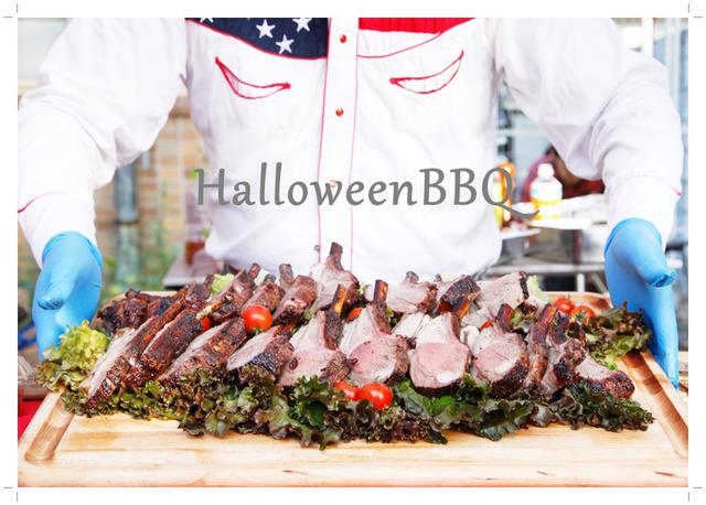 ハロウィン BBQ バーベキュー パーティー