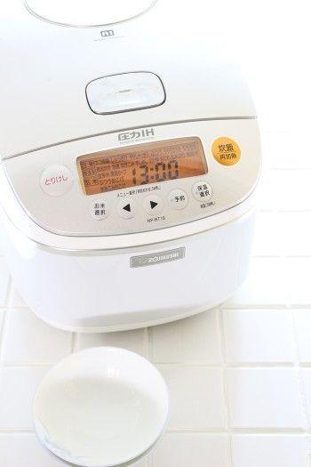 選んだ機種は、圧力の強さと圧力をかける時間を調整して、 さまざまな食感に炊き分けることができます。