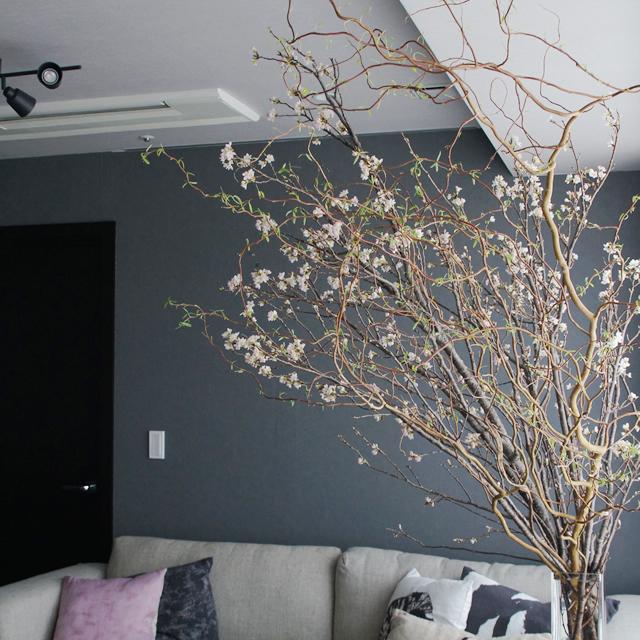 かんたん桜装飾! 室内で快適エア花見!! 後編