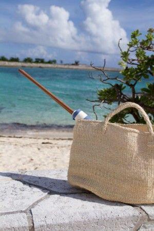 縫わずに簡単!海辺の目隠し