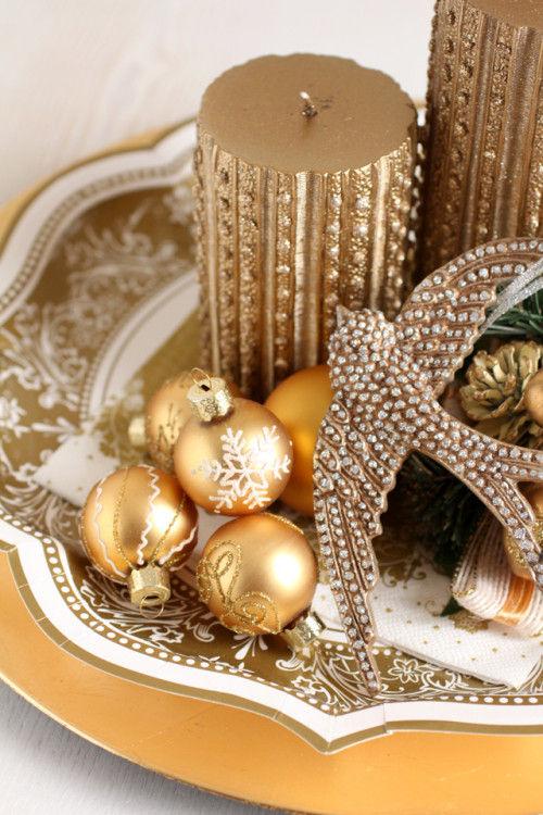ペーパープレートで、気軽&ゴージャスなクリスマス・デコレーション