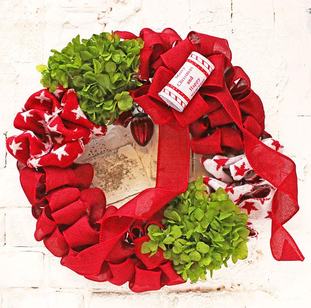 """""""毎日Wreath""""~身近な材料でつくれるリースのコレクション~"""