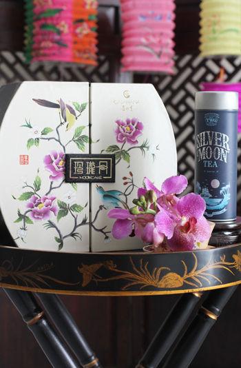 シンガポールより~月餅の箱を飾りながらティータイムのおもてなし