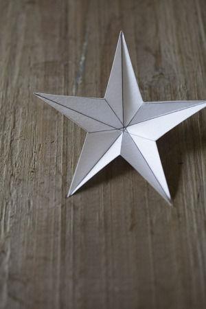 """3Dのお星様で、今年は""""男前""""な七夕飾り"""