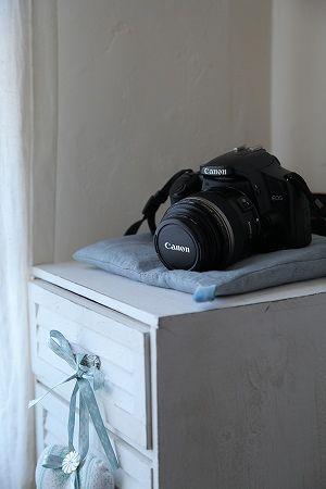 簡単お洒落なカメラクッション&乾燥剤サシェ