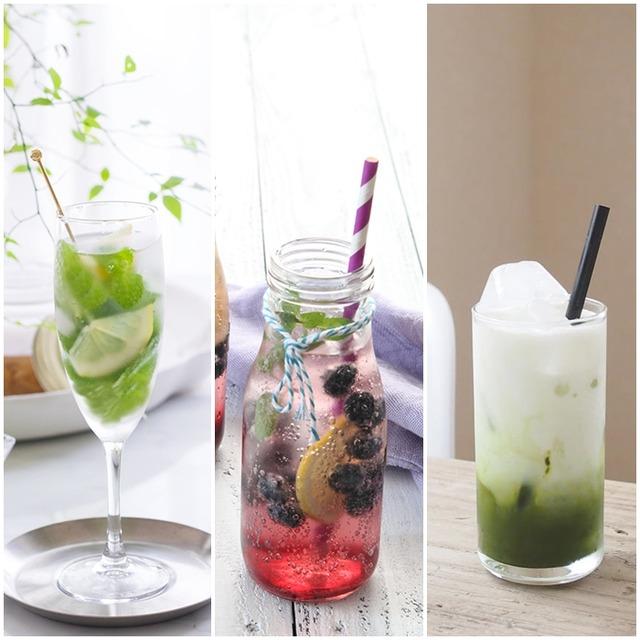 夏に飲みたい♪ おうちカフェレシピ 3選