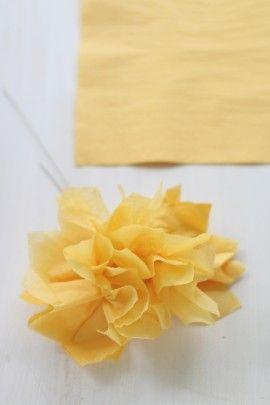 父の日に♪ 手作りのお花をギフトに添えて