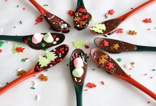 クリスマス ギフト 簡単 プレゼント 作り方 スプーンチョコ