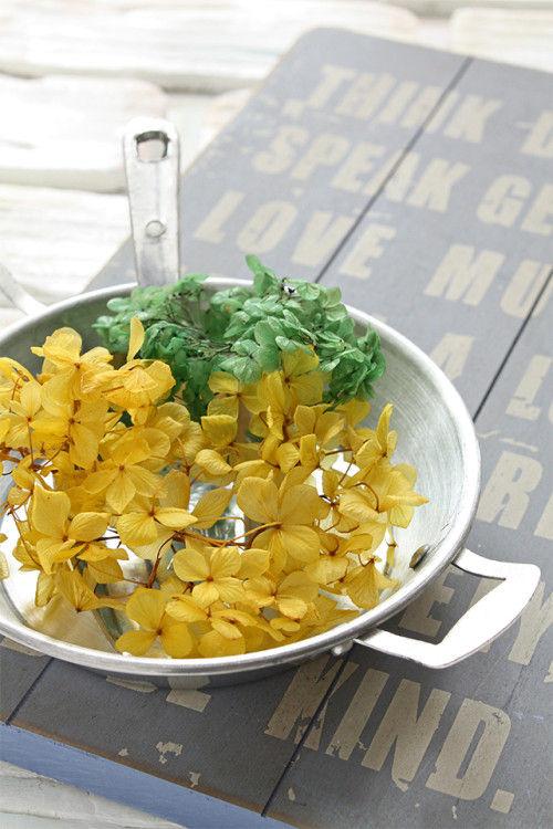 プリザーブドフラワーを自分で作ろう! 紫陽花編