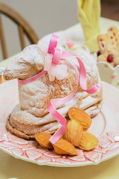 イースターの素朴なフランス菓子 アニョパスカル