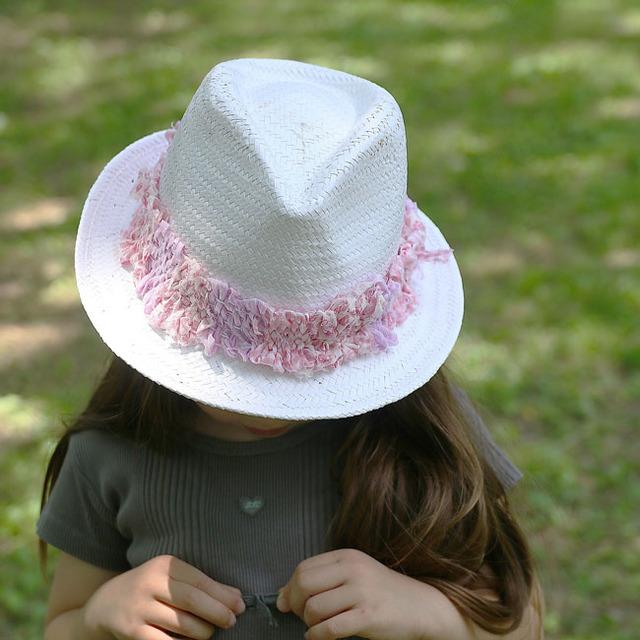 あそび育★夏休みに!手作り織り機で裂き布のリボンを作ろう