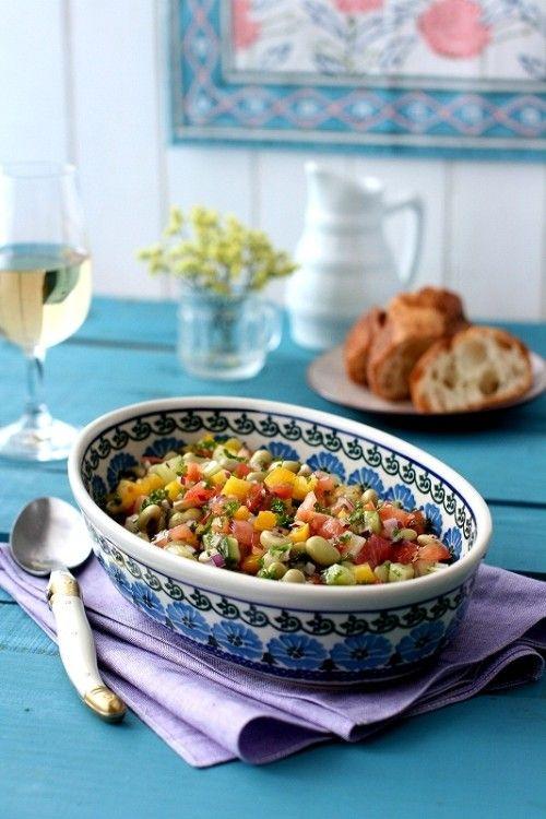 乾物の豆を美味しく食べよう(4)秘伝豆のレバノン風サラダ