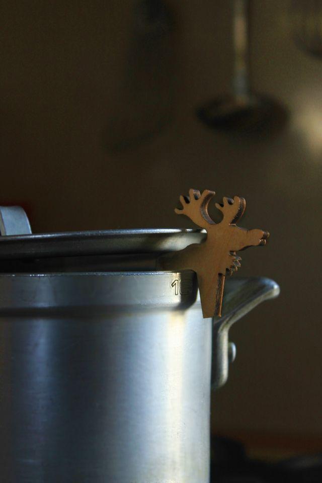 コトコトお鍋の見張り番・北欧キッチン雑貨のポットウォッチャー