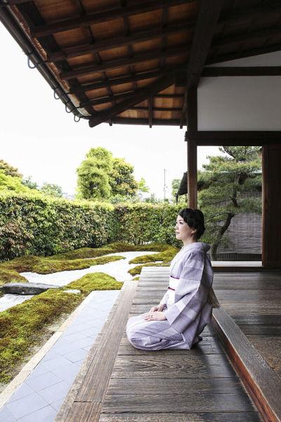 普段着物で楽しむ京都 その3  ~大徳寺 瑞峰院~