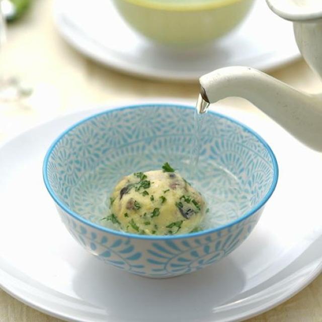作りおきできるから便利! 簡単スープ玉で、パーティに驚きを
