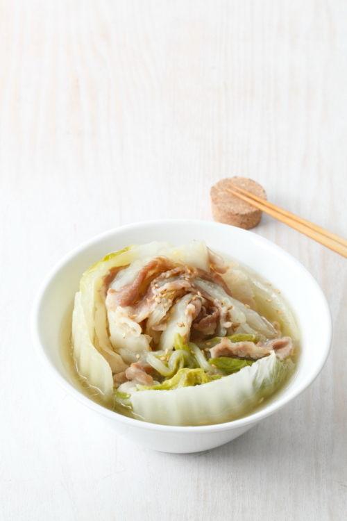 白菜ミルフィーユ鍋~ざっくりレシピ