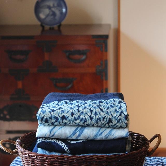 藍染め製品の基本のお手入れ方法 ~洗濯から収納まで~