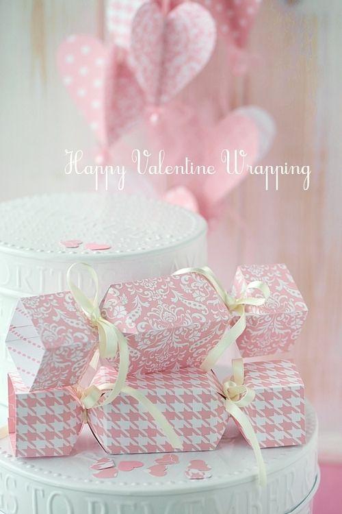 バレンタインの演出、手作りアイディア2種