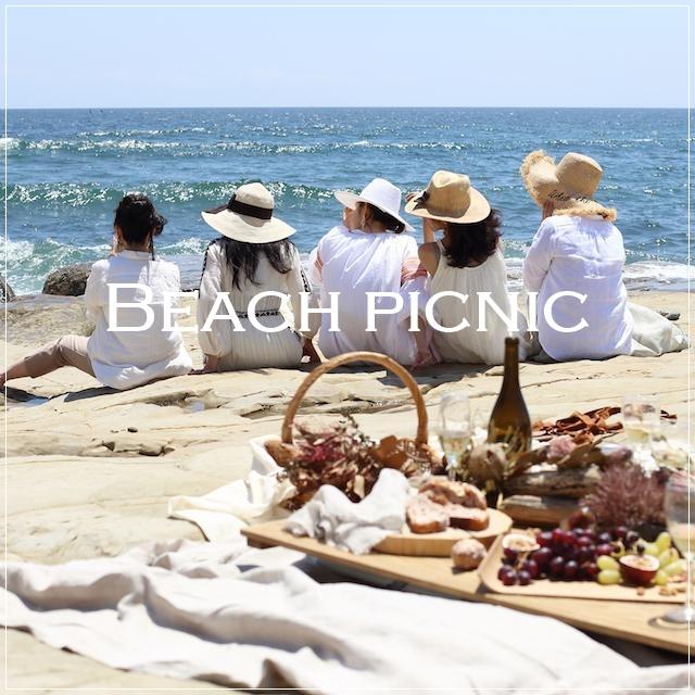 江ノ電ぶらり旅③ BBQより手軽でおしゃれ!持ち寄りビーチピクニック