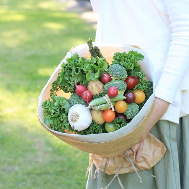スーパーの野菜を花束に♪ 見て食べて楽しむ「ベジブーケ」の作り方