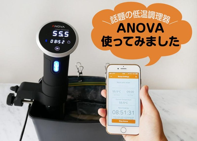 ANOVA 低温調理器