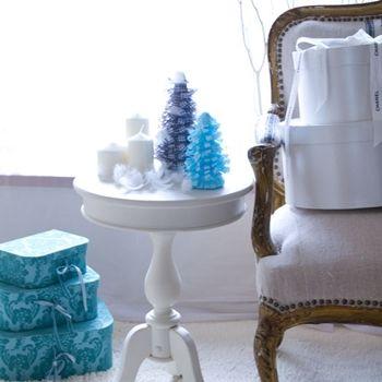 ◆クリスマスNo.3 リボンで作るクリスマスツリー