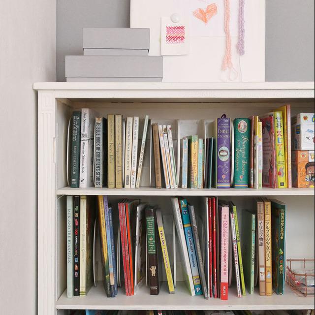 あそび育★こどもが自分でお片づけできる本棚の工夫