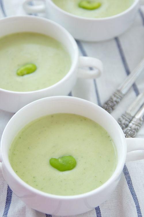 いまが旬 かんたん!美味しいそら豆のスープ