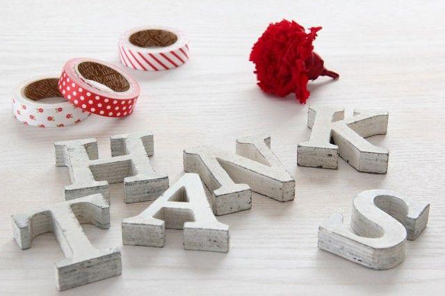 母の日に、感謝の気持ちを飾っちゃおう!