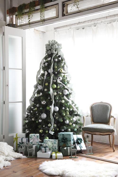 2012クリスマス特集 定番をリフレッシュ!グリーンツリー
