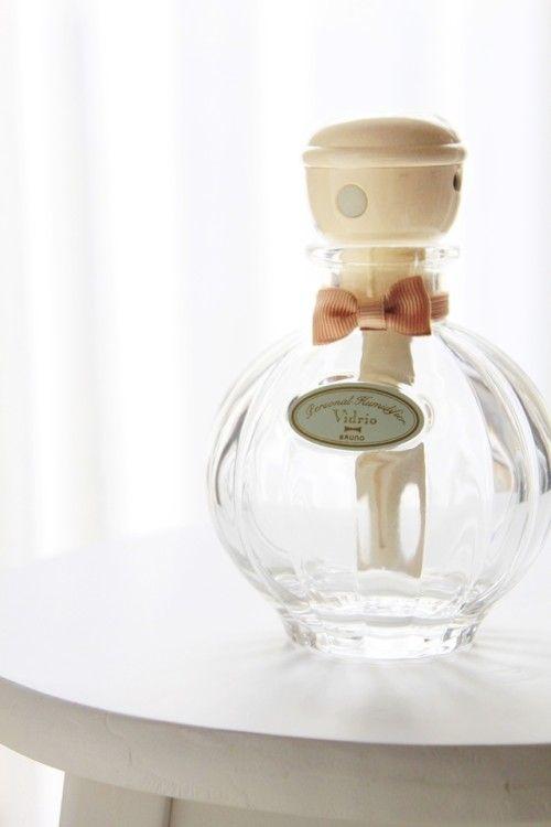 乙女心にぐっとくる香水瓶みたいな加湿器