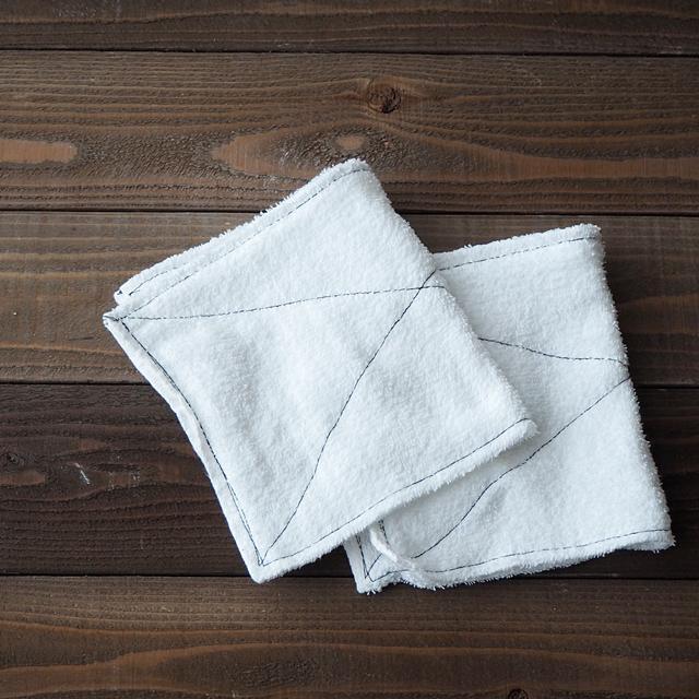 【新学期の準備】1枚のタオルで2枚「ぞうきん」 基本の作り方