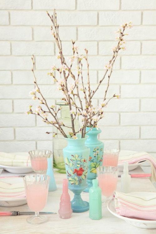 おうちの中でお花見♪ 気分が華やぐさくらのテーブル