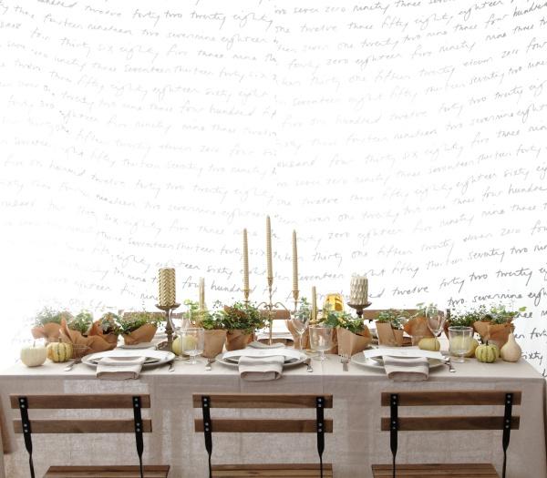 イケア&フランフランのアイテムで楽しむ 秋のホームパーティデコレーション