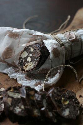 びっくり・おいしいサプライズ!『チョコレートサラミ』