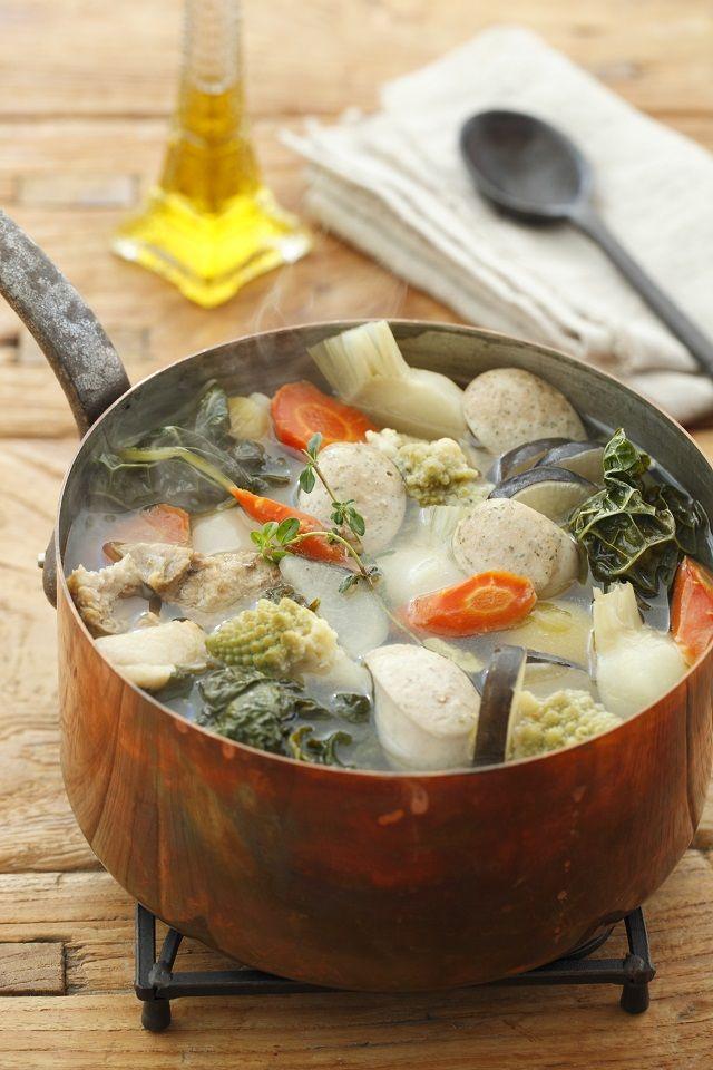 残りのスープも美味しい♪ 具だくさんポトフ