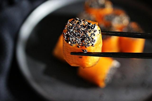 ハロウィン 野菜 寿司