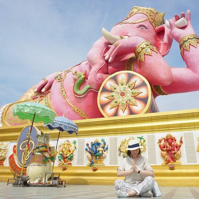 インスタで大人気!! 3倍の速さで願いを叶えてくれるピンクのガネーシャ