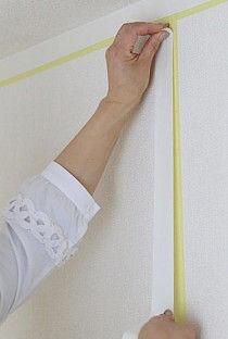 両面テープで壁紙を張れるって本当?