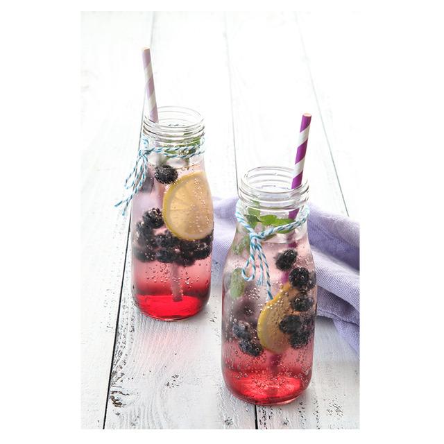 お家カフェレシピ♪ 果実がゴロゴロ入ったブルーベリーソーダ