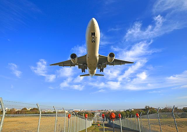 飛行機 撮影 伊丹空港 千川土手