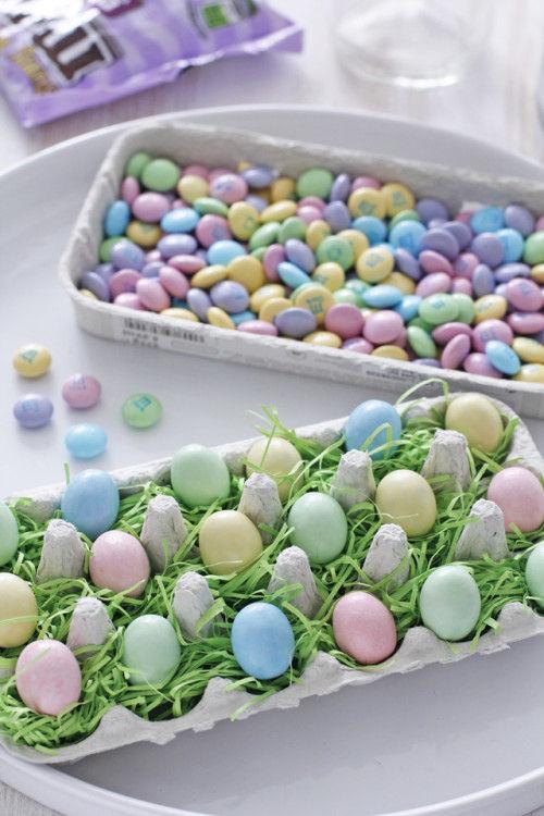 イースター限定ミニ・エッグチョコで、簡単カップケーキ・デコ