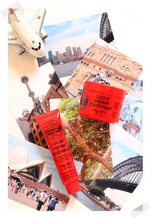 オーストラリアでは一家にひとつ、『ポーポー軟膏』って知っていますか??