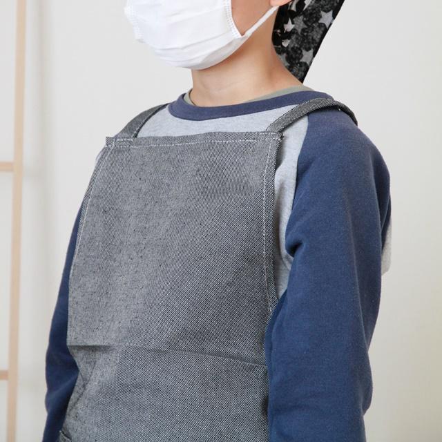 ダイソーのエプロンを活用♪ 子ども用にリメイクする方法