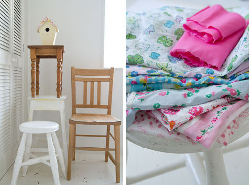 ファブリックで家具を簡単リメイク!