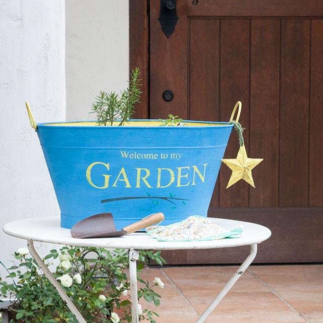 ビタミンカラーでステンシル♪ 冬の庭を元気に彩ろう!