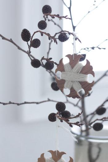 冬のインテリア・ディスプレイ